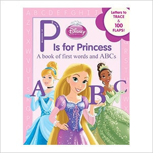 P Is for Princess Book