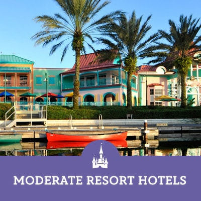 Moderate Resort Hotels