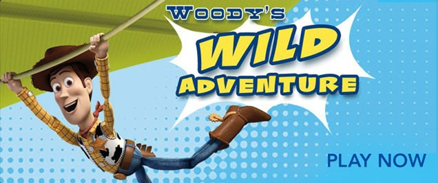 Toy Story - Woody's Wild Adventure Game