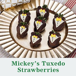 Holiday 2014 - Mickey's Tuxedo Strawberries