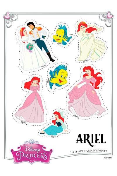 Autocolantes da Ariel