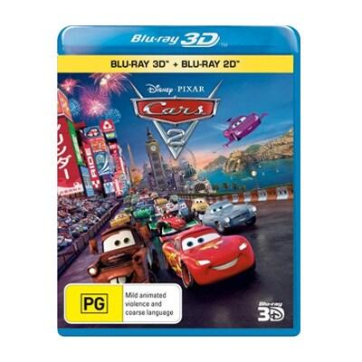Cars 2 Blu-ray $29.95
