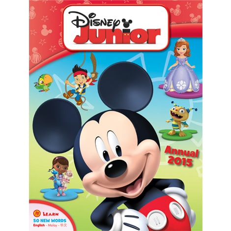 Disney Junior Annual 2015