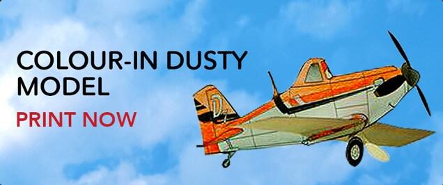 Colour In Dusty Crophopper Model