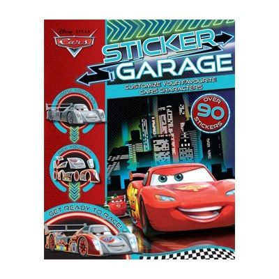 Cars Sticker Garage $10.95
