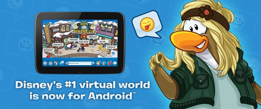 Club Penguin now on Android!