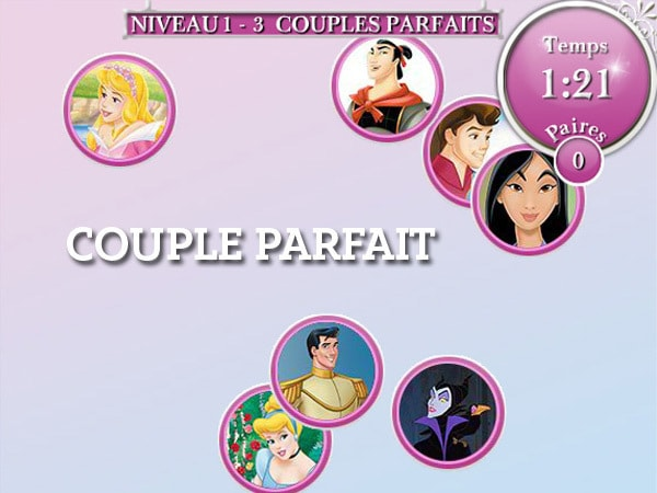 Princess Multi - Couple Parfait