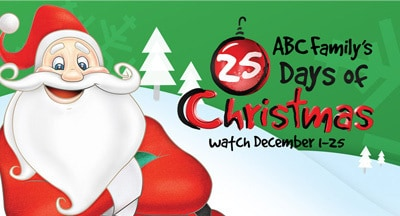 25 Days of Christmas TV Schedule