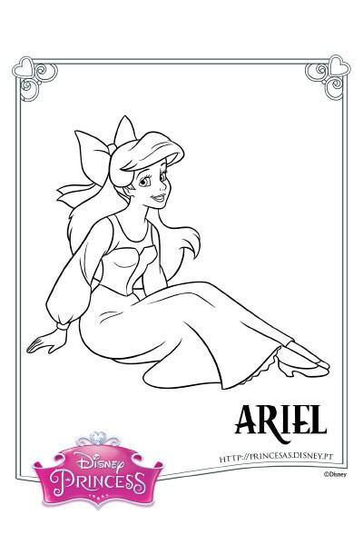 Colorir a Ariel 4