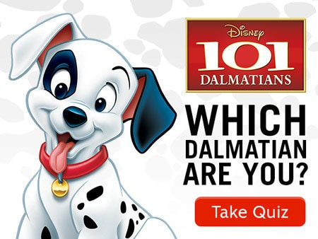 Which 101 Dalmatian are you?