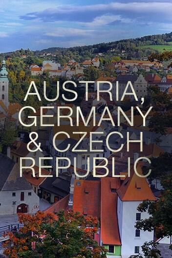 Austria, Germany, and Czech Republic