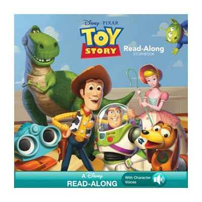 Toy Story Read-Along Storybook $4.99