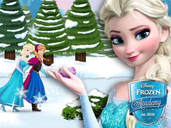 Play Frozen's Ice-skate