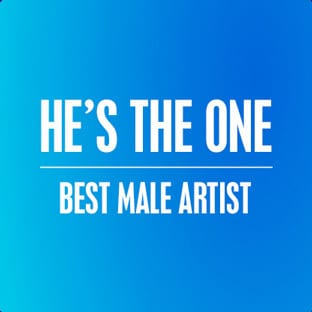 RDMA 2015 Nominees - He's the One - Category