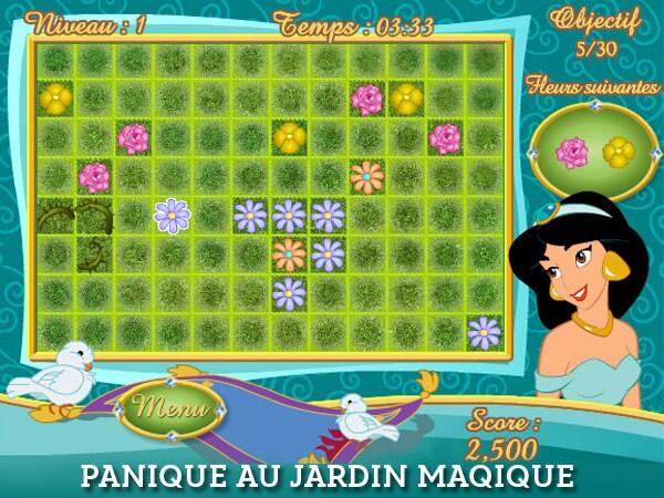 Panique au Jardin Magique