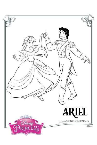 Colorir a Ariel 3