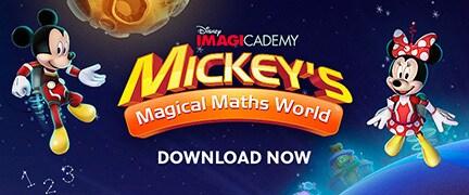 โลกคณิตศาสตร์มหัศจรรย์ของ Mickey's Magical