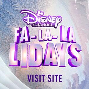 Stream - Disney Holiday - Fa-La-La Lidays