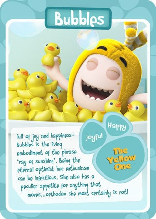 Bubbles Character Card