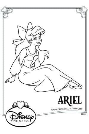 Disney Princess Colouring Pages Activities Disney Create