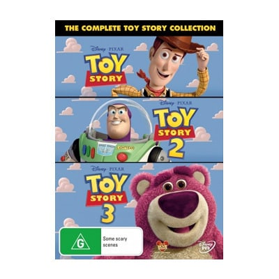 Toy Story 1, 2 & 3 DVD Set $29.95
