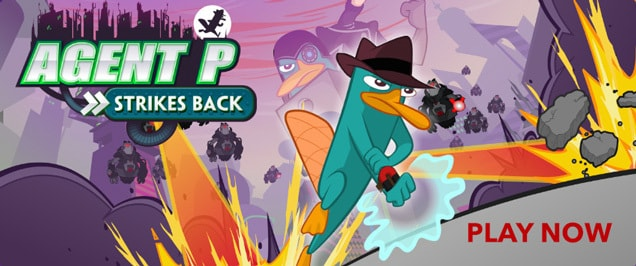 Games - Phineas and Ferb - Agent P Strikes Back