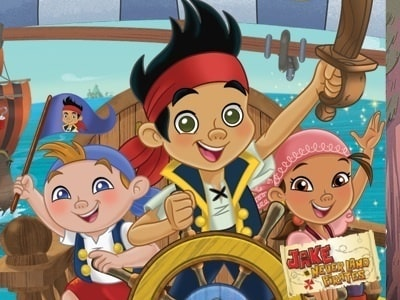 Jake and the Never Land Pirates DVDs