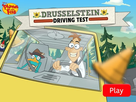 Phineas and Ferb - Drusselstein Driving Test