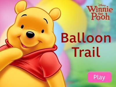 Winnie the Pooh - Balloon Trail