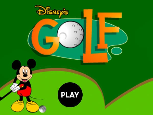 Golf Games Disney Lol