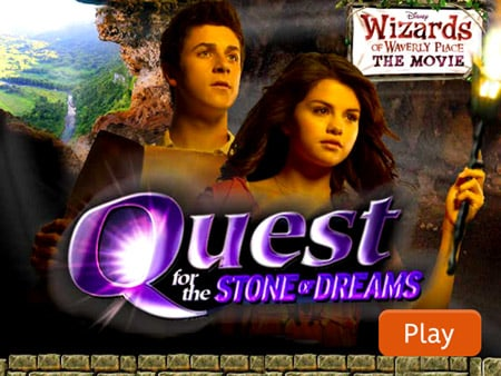 Wizards Of Waverly Place Games Quest For The Stone Of Dreams Disney Lol