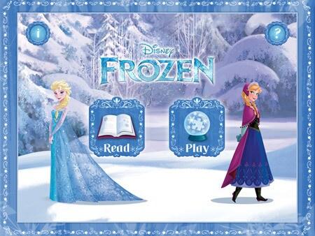 หนังสือนิทานรูปแบบใหม่จาก Frozen
