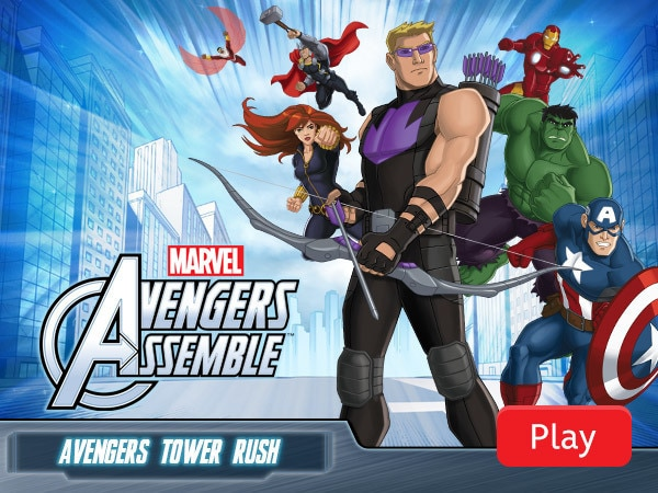Avengers Assemble - Avengers Tower Rush