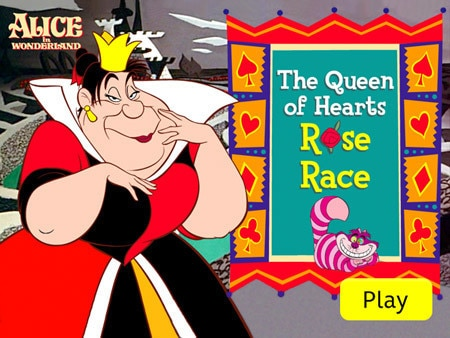 Queen of Hearts Rose Race