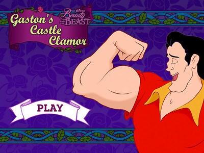 Beauty and the Beast - Gaston's Castle Clamor