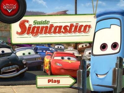Cars - Guido Signtastico | Disney LOL