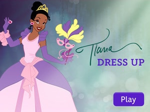 Disney Princess: Tiana Dress Up App