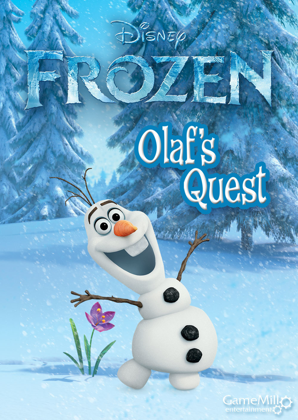 Frozen Poster Olaf Frozen | Official Disn...