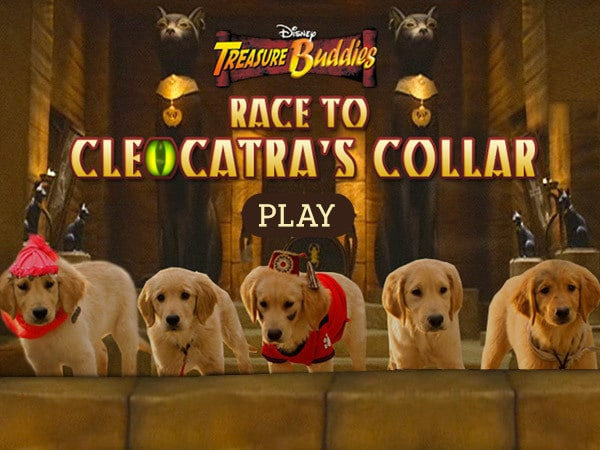 Race to Cleocatra's Collar