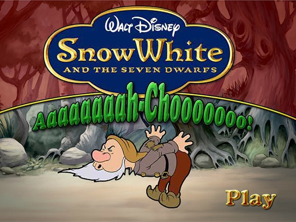 Snow White and the Seven Dwarfs - Aaah Choo!