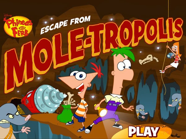 Phineas and Ferb: Escape from Moletropolis