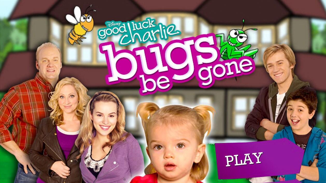 Good Luck Charlie: Bugs Be Gone | Disney LOL