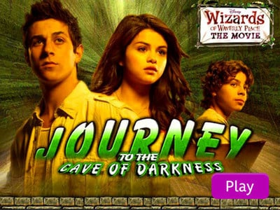 Wizards of Waverly Place Journey to the Cave of Darkness Disney LOL