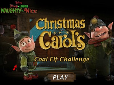 Christmas Carol's Coal Elf Challenge