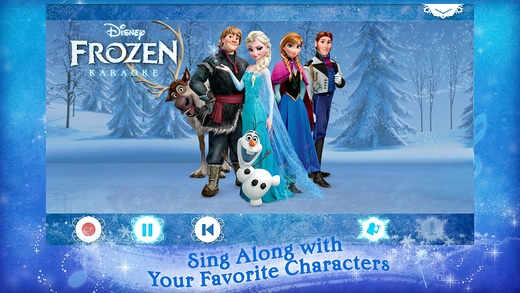 Disney Karaoke Frozen Gallery