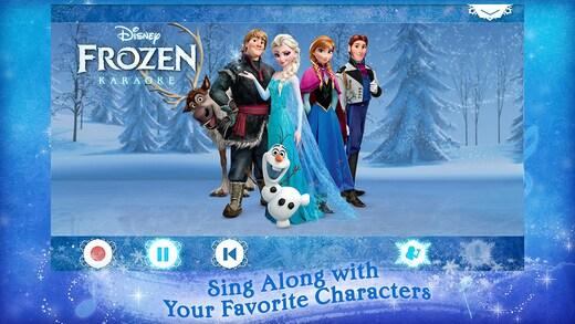 อัลบั้มภาพ Disney Karaoke Frozen