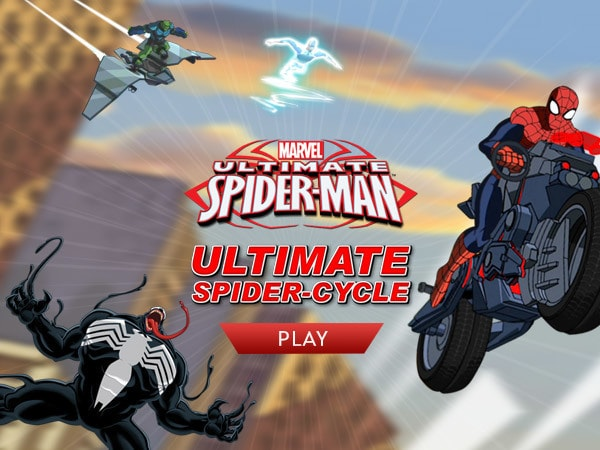 Ultimate Spider-Man: Ultimate Spider-Cycle