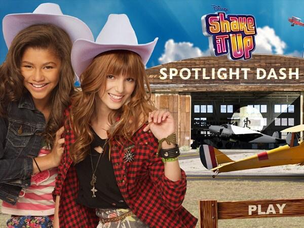 Shake It Up: Spotlight Dash