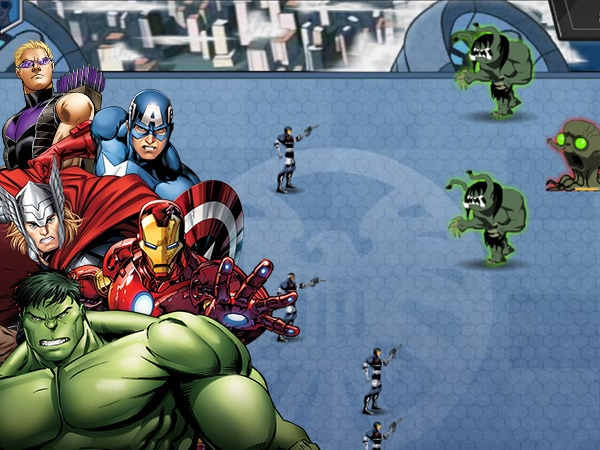 Avengers contro Gamma Monsters
