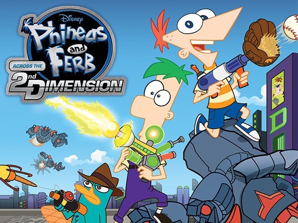 Phineas and Ferb: Gadget Golf - WildTangent Games